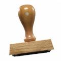 Holzstempel, 80x60 mm inkl. Gestaltung
